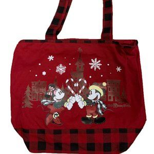 Disney Tote Bag - 2019 Holiday - Mickey and Minnie